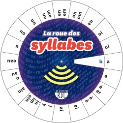 Roue des syllabes - recto